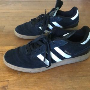Men's Adidas Black/White Sneakers